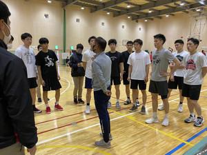 5/22(土)、5/23(日)練習試合(vs 開志国際高校)