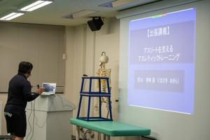 健康スポーツ学科 出張授業