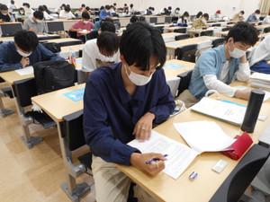 社会福祉士国家試験対策 夏期特別対策講座 確認テスト実施